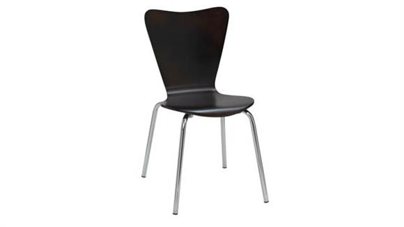 Stacking Chairs KFI Seating Wood Café Stack Chair