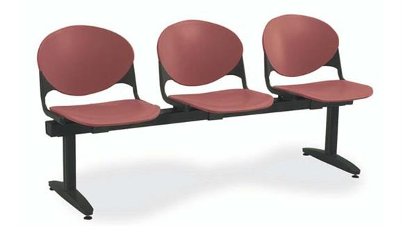 Side & Guest Chairs KFI Seating Beam 3 Seat Bench