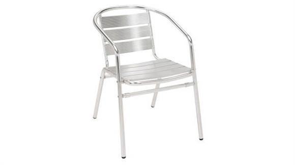 Stacking Chairs KFI Seating Aluminum Stacking Arm Chair