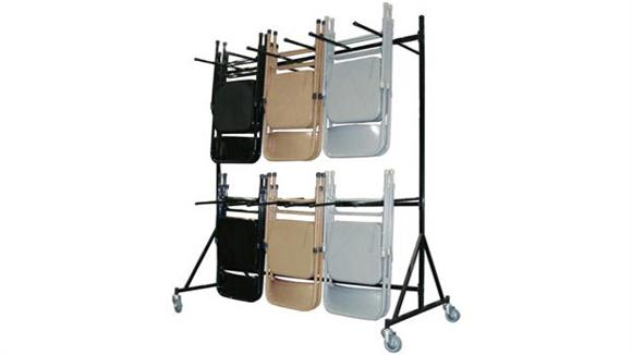 Folding Chairs KFI Seating Folding Chair Dolly
