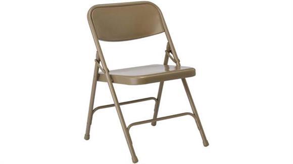 Folding Chairs KFI Seating Steel Folding Chair