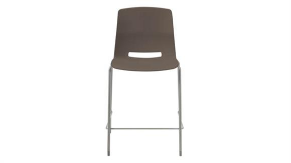"Stacking Chairs KFI Seating 25"" Stacking Office Counter Stool"