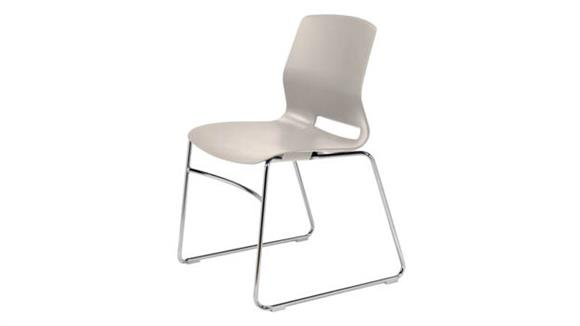 Stacking Chairs KFI Seating Sled Base Office Stack Chair