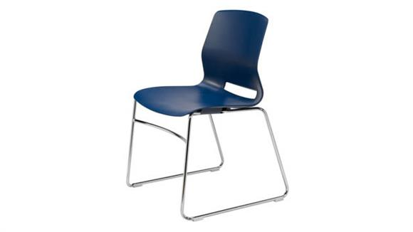 Stacking Chairs KFI Seating Sled-Base Office Stack Chair