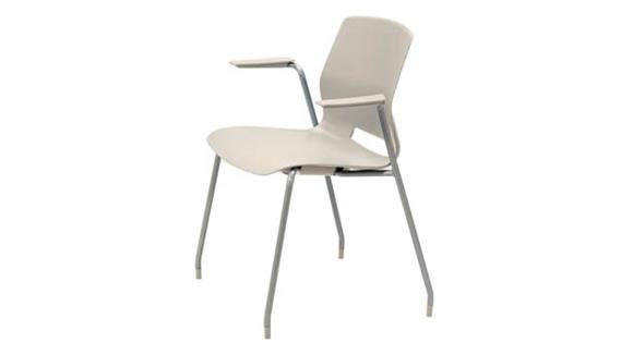 Stacking Chairs KFI Seating Office Stack Chair with Arms