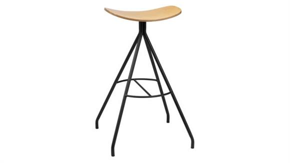 Bar Stools KFI Seating Barstool with Laminate Seat