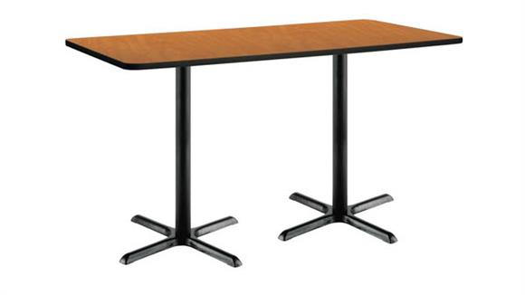 "Conference Tables KFI Seating 42""H x 30""W x 72""D Pedestal Table"