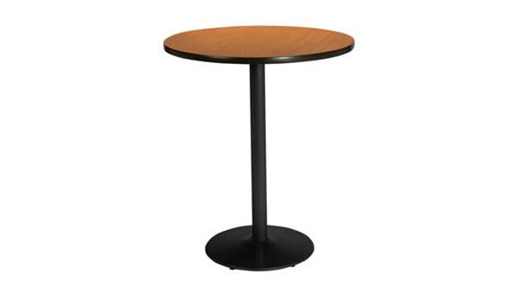 "Cafeteria Tables KFI Seating 42""H x 30"" Round Table, Bistro Height"