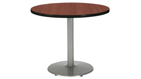 """Cafeteria Tables KFI Seating 30"""" Round Cafeteria Table"""