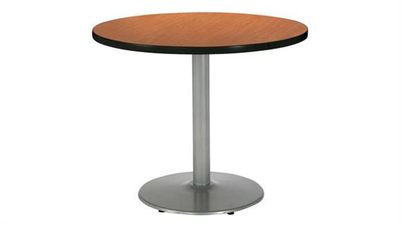 "Cafeteria Tables KFI Seating 30"" Round Cafeteria Table"
