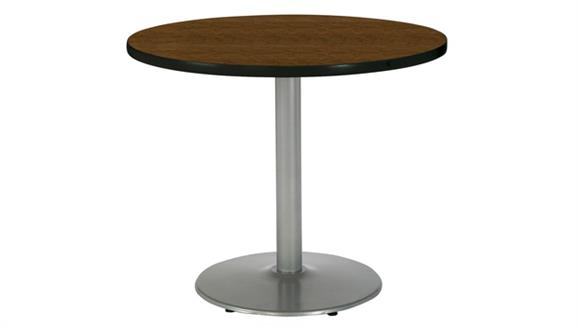 "Cafeteria Tables KFI Seating 42"" Round Cafeteria Table"