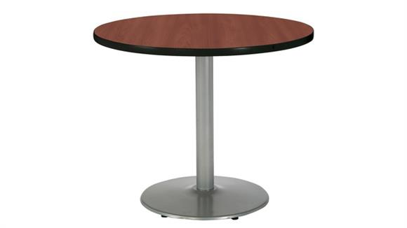 """Cafeteria Tables KFI Seating 36"""" Round Cafeteria Table"""