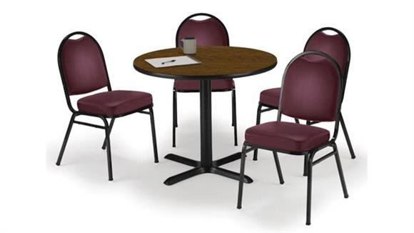 Cafeteria Tables KFI Seating Cafeteria Table with 4 Chairs
