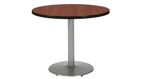 """Cafeteria Tables KFI Seating 42"""" Round Cafeteria Table"""