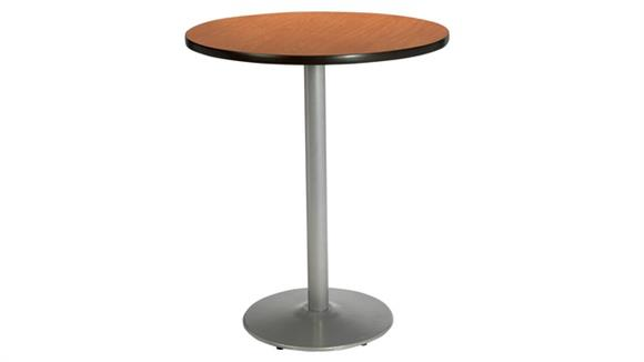 "Cafeteria Tables KFI Seating 42""H x 42"" Round Table, Bistro Height"
