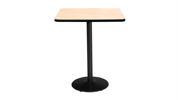 "Cafeteria Tables KFI Seating 42"" Square Table, Bistro Height"