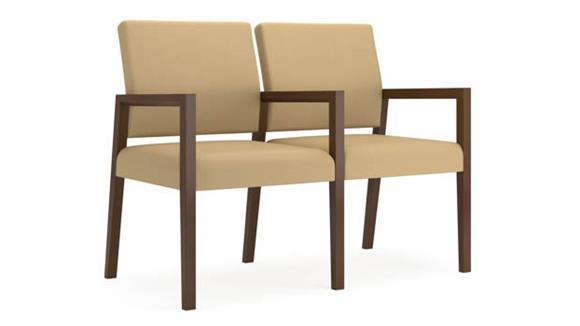 Sofas Lesro 2 Seats with Center Arm
