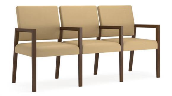 Sofas Lesro 3 Seats with Center Arm