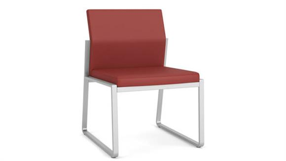Side & Guest Chairs Lesro Polyurethane Armless Guest Chair