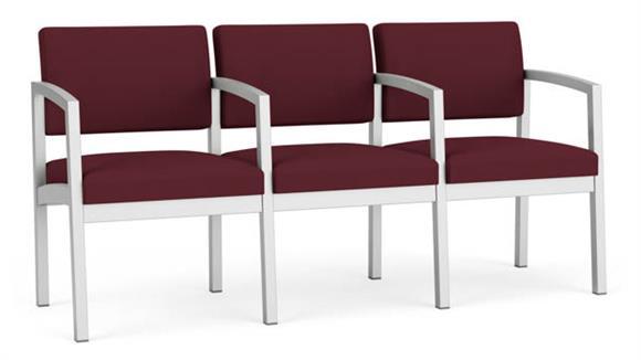 Sofas Lesro 3 Seat Sofa with Center Arms