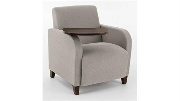 Side & Guest Chairs Lesro Guest Chair with Swivel Tablet