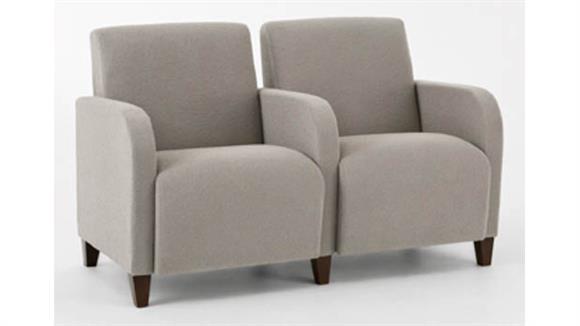 Sofas Lesro 2 Seat Sofa with Center Arms