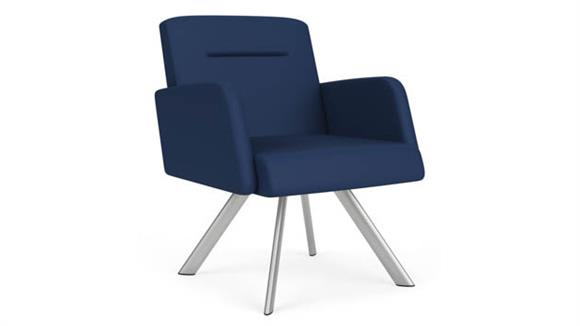 Side & Guest Chairs Lesro Polyurethane Swivel Guest Chair