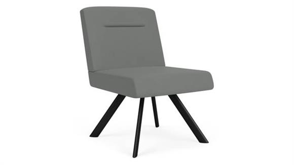 Side & Guest Chairs Lesro Armless Swivel Guest Chair