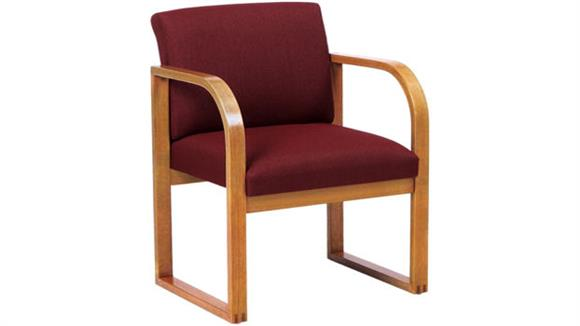 Side & Guest Chairs Lesro Sled Base Guest Chair