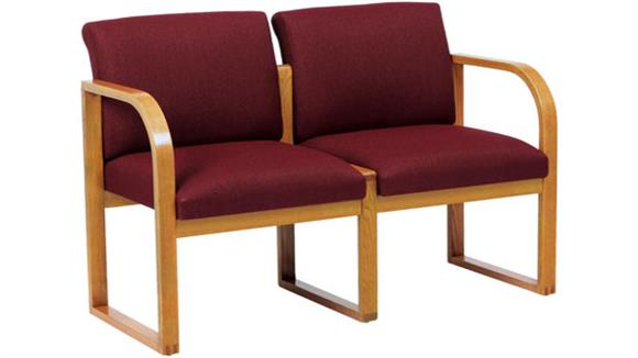 Side & Guest Chairs Lesro 2 Seat Sofa