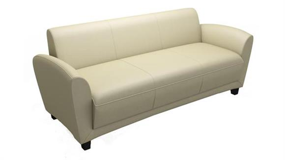 Mayline Office Furniture Leather Sofa