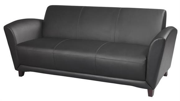 Sofas Mayline Office Furniture Leather Sofa