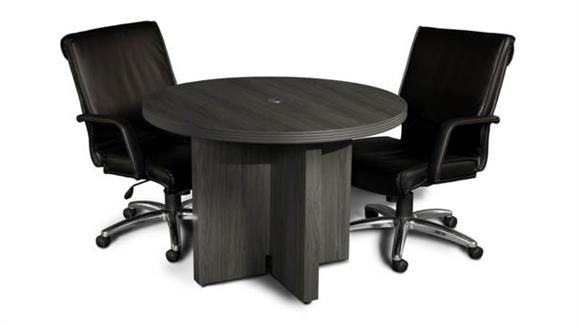 """Conference Tables Mayline Office Furniture 42"""" Round Conference Table"""