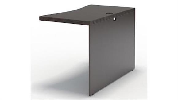 "Desk Parts & Accessories Mayline Office Furniture 48"" Contour Bridge"
