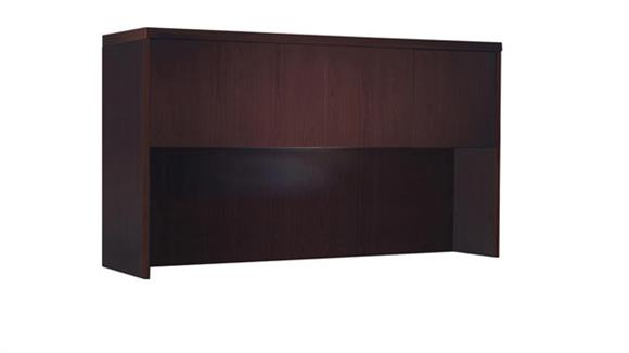 "Hutches Mayline Office Furniture 72"" Hutch with Wood Doors"