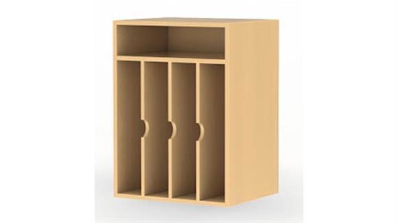 Magazine & Literature Storage Mayline Office Furniture Vertical Paper Management