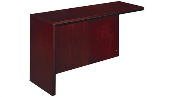 Reception Desks Mayline Office Furniture Left Reception Desk Return