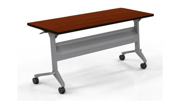 "Training Tables Mayline Office Furniture 72"" x 18"" Training Table"