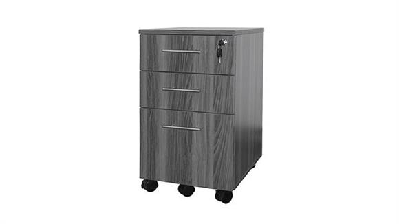 Mobile File Cabinets Mayline Office Furniture 3 Drawer Mobile Pedestal