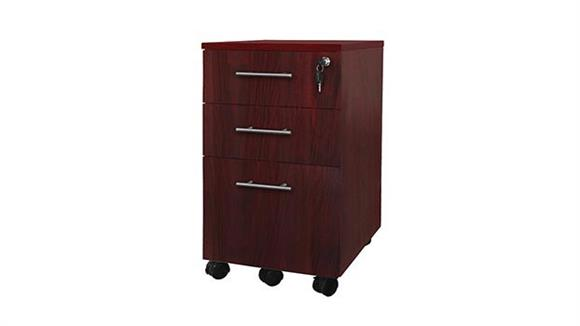 Mobile File Cabinets Mayline Office Furniture 3 Drawer Mobile Pedestal