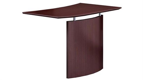 Desk Parts & Accessories Mayline Office Furniture Left Hand Bridge