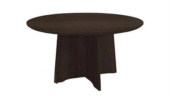 """Conference Tables Mayline Office Furniture 48"""" Round Conference Table"""