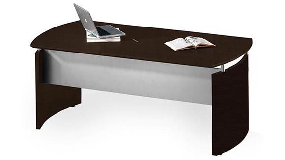 """Executive Desks Mayline Office Furniture 63"""" Desk"""
