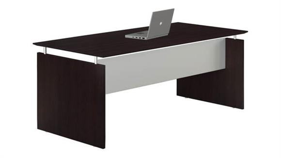 "Executive Desks Mayline Office Furniture 63"" Straight Desk"