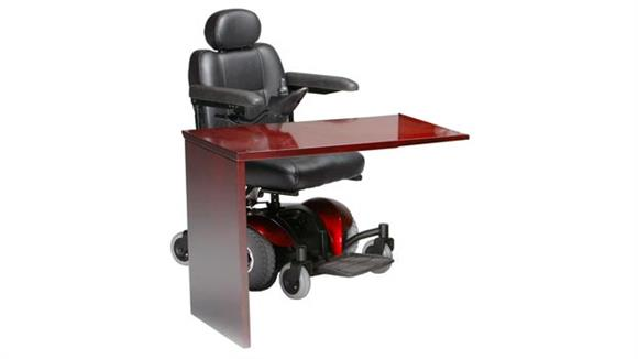 Reception Desks Mayline Office Furniture Universal ADA Reception Return