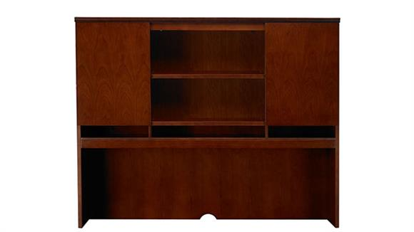 "Hutches Mayline Office Furniture 72"" Double Height Door Hutch"