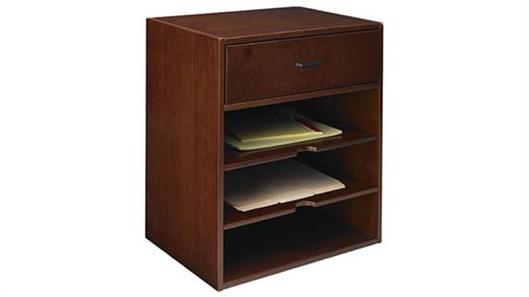 Hutches Mayline Office Furniture Horizontal Hutch Organizer