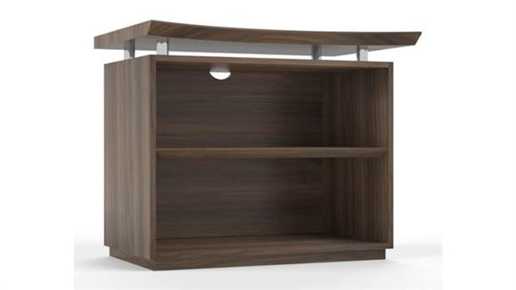 """Bookcases Mayline Office Furniture 36"""" Two Shelf Bookcase"""