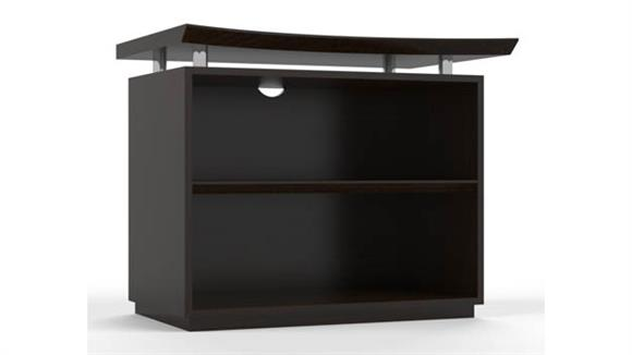 "Bookcases Mayline Office Furniture 36"" Two Shelf Bookcase"