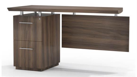 Desk Parts & Accessories Mayline Office Furniture Single Pedestal Desk Return